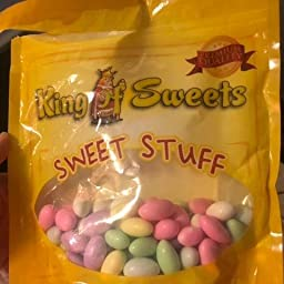 Amazon Com Assorted Jordan Almonds 1 Pound Bag Candy Almonds Grocery Gourmet Food