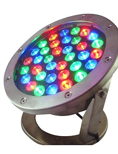 ZQ Character design 36W 36 LEDs IP68 Waterproof Outdoor RGB LED Underwater Light (AC24V)