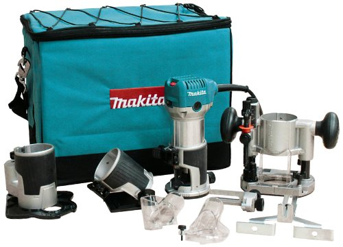 - Makita RT0701CX3 1-1/4 HP Compact Router Kit