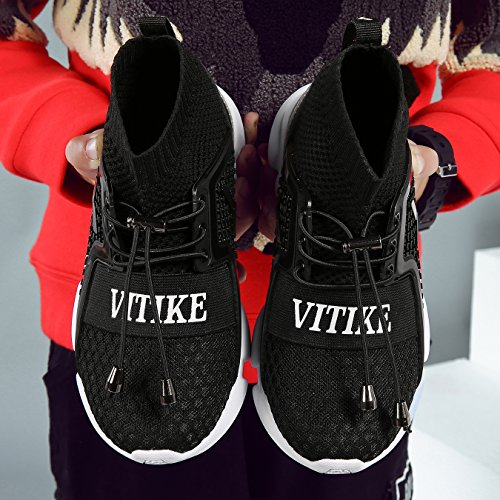 Pictures of Kids Shoes Boys Girls Sneakers Flyknit Sock 7