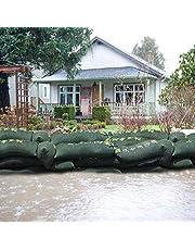 Ecisi Bolsa de Arena sin Arena, la Bolsa de Arena Better, Barrera de inundación Absorbente de Agua, Segura y protegida, Bolsa de protección contra inundaciones al Aire Libre - Paquete de 5