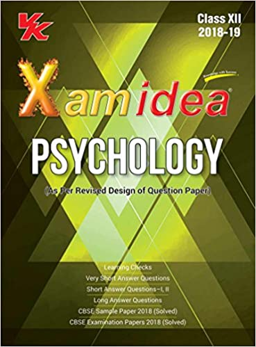 Xam Idea Psychology Class 12 CBSE for 2019 Exam: Amazon in: VK