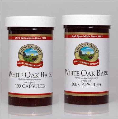 (Naturessunshine White Oak Bark Immune System Support 460 mg 100 Capsules (Pack of)