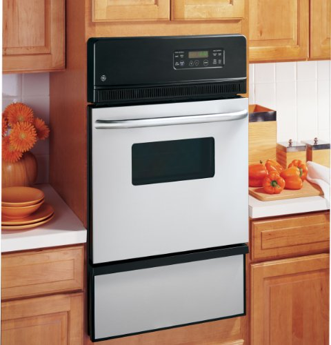 GE JGRP20SENSS 24″ Stainless Steel Gas Single Wall Oven