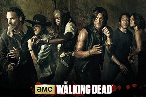 The Walking Dead - TV Show Poster / Print The Season 5 Cast
