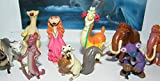 Ice Age Collision Course Movie Deluxe Party Favors Goody Bag Fillers Set of 13 Figures with Scrat, Sid, Manny and New Characters Brooke and Shangri-Llama!