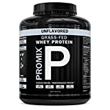 Grass Fed Whey Protein | 5lb | Unflavored Whey from California Cows | 100% Natural Whey | 2 Ingredients w/ No Sweeteners or Added Sugars | Non-GMO + Gluten Free + Preservative Free | Pure Promix_bulk