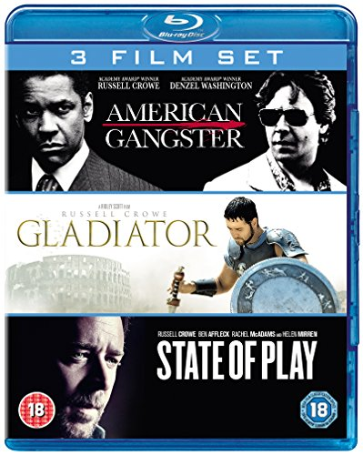 State of Play/Gladiator/American Gangster [Blu-ray]