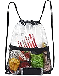 d7d0d323c636 Clear Drawstring Bag
