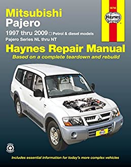mitsubishi pajero automotive repair manual haynes publishing rh amazon com 2005 Montero 99 Mitsubishi Montero