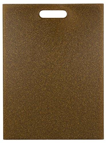 EcoSmart PolyFlax Cutting Board, Brown, 12