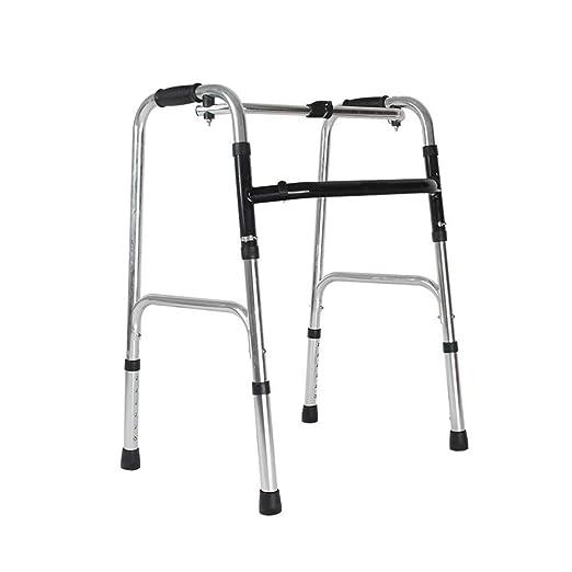 Wghz Andador Plegable Ajustable para Ancianos, Polea de Aleación ...