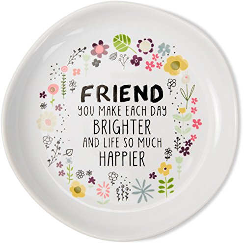 Love You More by Amylee Weeks Jewelry Dish Friend You Make Each Day (Day Dish)