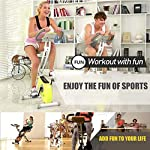 Spin-Bike-Bike-Coperta-for-Il-Fitness-Salute-Regolabile-Resistenza-Sede-Cyclette-Holder-Tablet-Tranquillo-Stabile-E-Regolare-for-La-Casa-Cardio-Workout