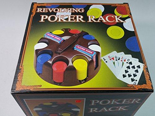 Ultimate Revolving Carousel Poker Rack/200 Pc Chip Set (Carousel 200 Chip)