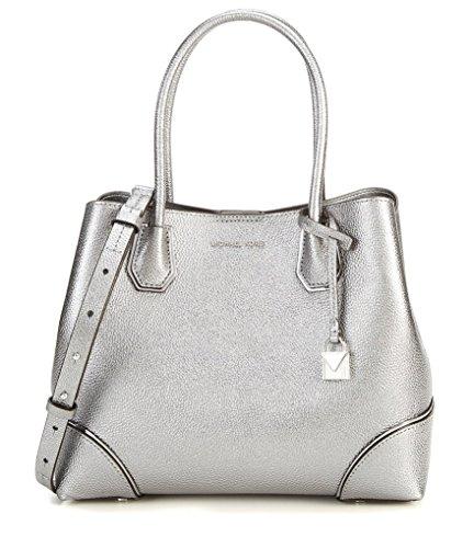 Michael Kors Pewter Handbag - 9
