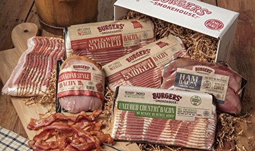Burgers' Smokehouse Colossal Bacon Sampler (Best Bacon Of The Month Club)