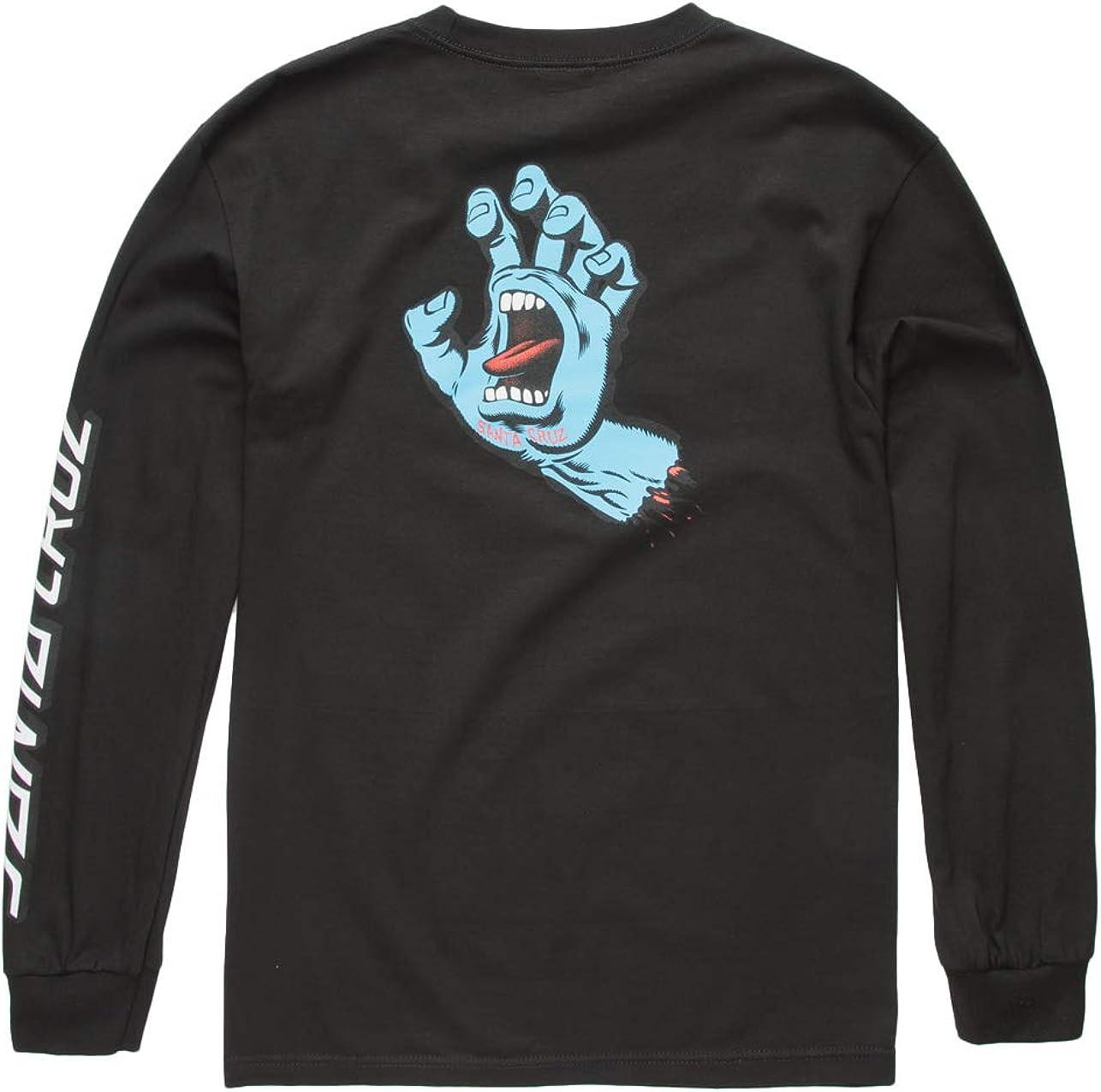 Santa Cruz Men's Screaming Hand L/S Shirts