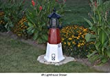 Amish-Made Barnegat, NJ Replica Lighthouse, 121'' Tall