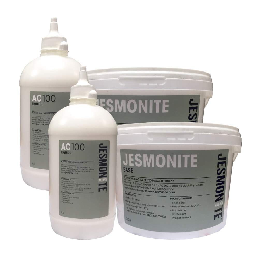 Jesmonite AC100 Water Based Casting Resin 7kg Kit