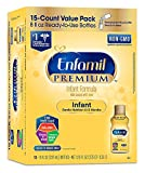 Enfamil Infant Formula Milk Based with Iron, 8 Ounce, 15 Count (Packaging May Vary)