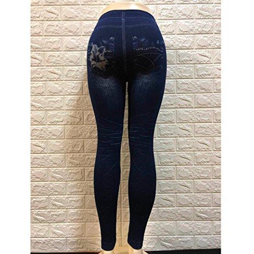 Jeans Skinny Pencil Pantalon Culater Stretchy taille Leggings Denim Femmes Pantalons haute pq7BRX7