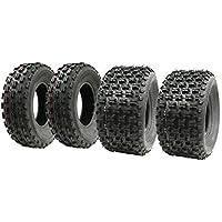 Parnells Juego de Cuatro neumáticos Slasher Quad 21x7-10