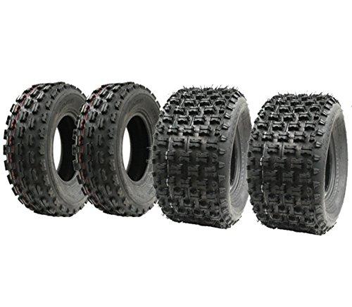 20x10-9 Wanda Race Stra/ße legale E markiert Set von vier Slasher Quad Reifen 21x7-10