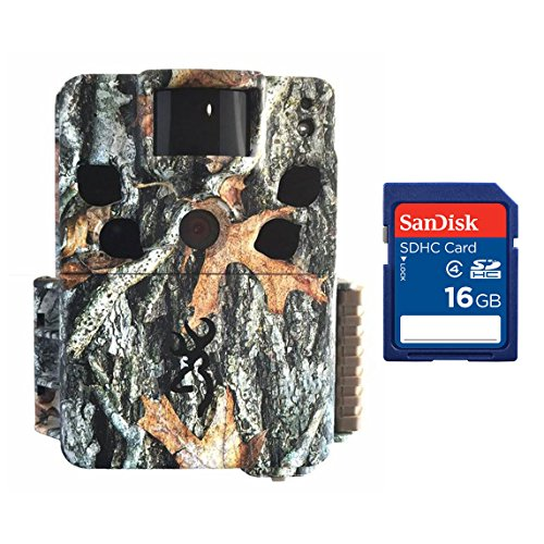 Browning Dark Ops HD Pro 18MP Video Black Infrared Hunting Game Camera + SD Card
