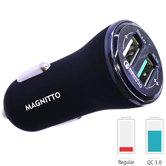 Chargers Devoted 3 Ports Usb Car Charger Adapter Led Quick Charging For Iphone Samsung Cell Phone Quick Charge Buy One Give One Accessories & Parts