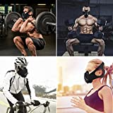DAYSLIVES Sport Mask Workout Training - for Running Biking Training and Fitness, Achieve High Altitude Elevation Effects with 6 Level Air Flow Regulator [Peak