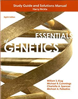 Study guide and solutions manual for essentials of genetics study guide and solutions manual for essentials of genetics fandeluxe Gallery