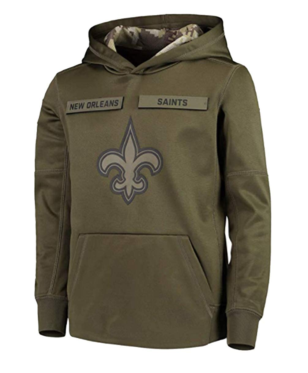 finest selection 59a2d 9ebf9 Amazon.com: Beverly Wray New Orleans Saints Apparel Salute ...