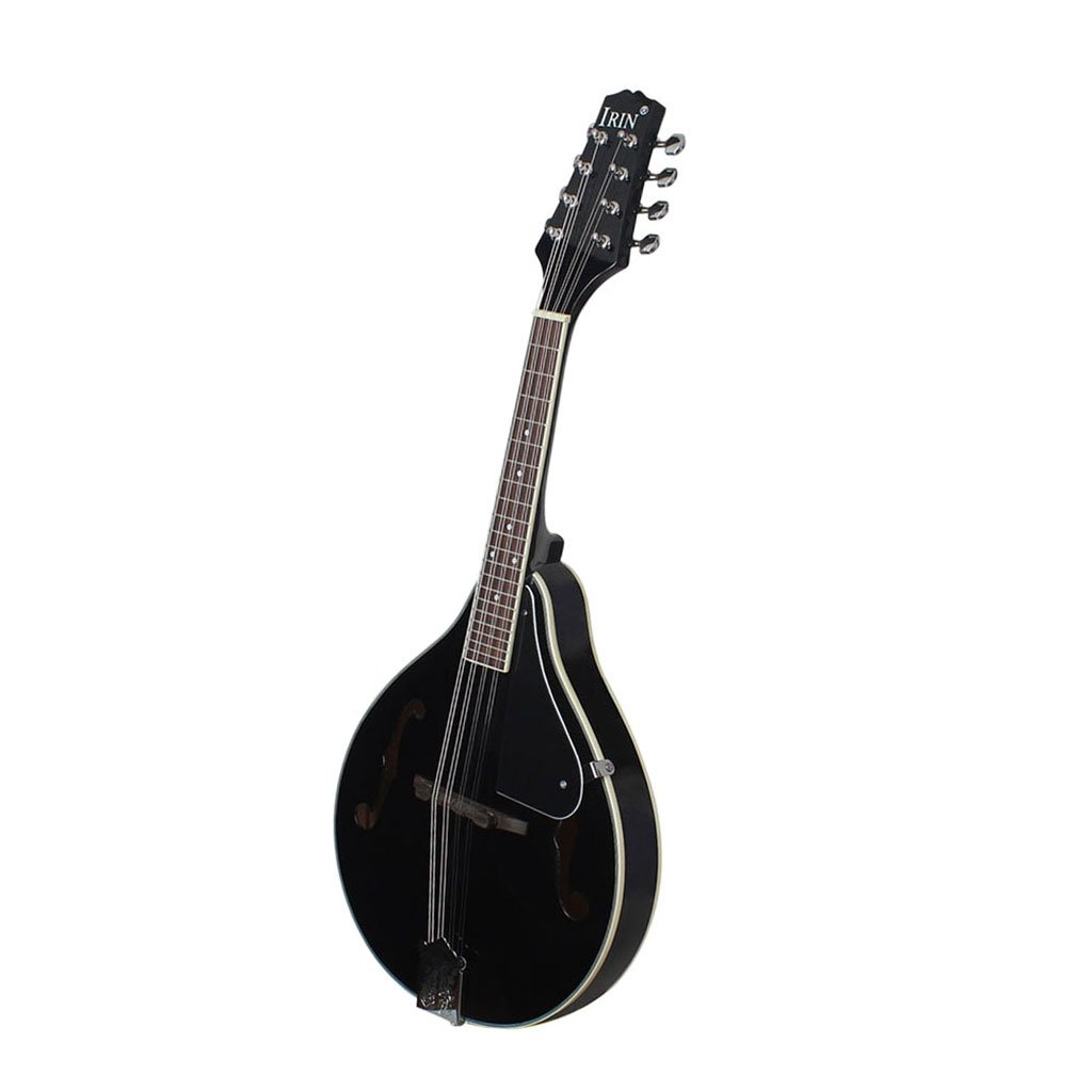 Jili Online Acoustic Electric Mandolin+Soft Mandolin Bag+Silver Plated Strings for Musical Performance