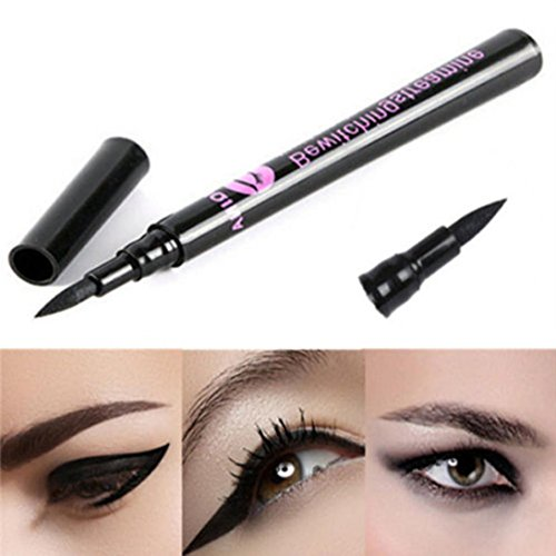 Lavany Liquid Eye Liner Pencil,Waterproof Black Eyeliner Liquid Eye Liner Pen Cosmetic Eyebrow Makeup Pen Tools Hot Sale (A)