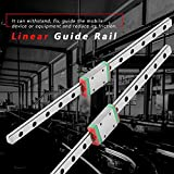 Mini Linear Rail Guide, 200mm Linear Guide Rail