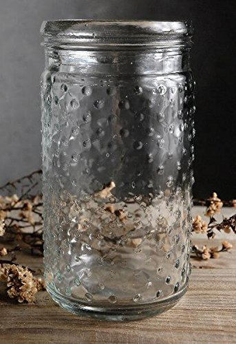 Hobnail Clear Glass - Richland Clear Glass Hobnail Mason Jar 7