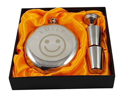 Smile Flask Gift Set ()