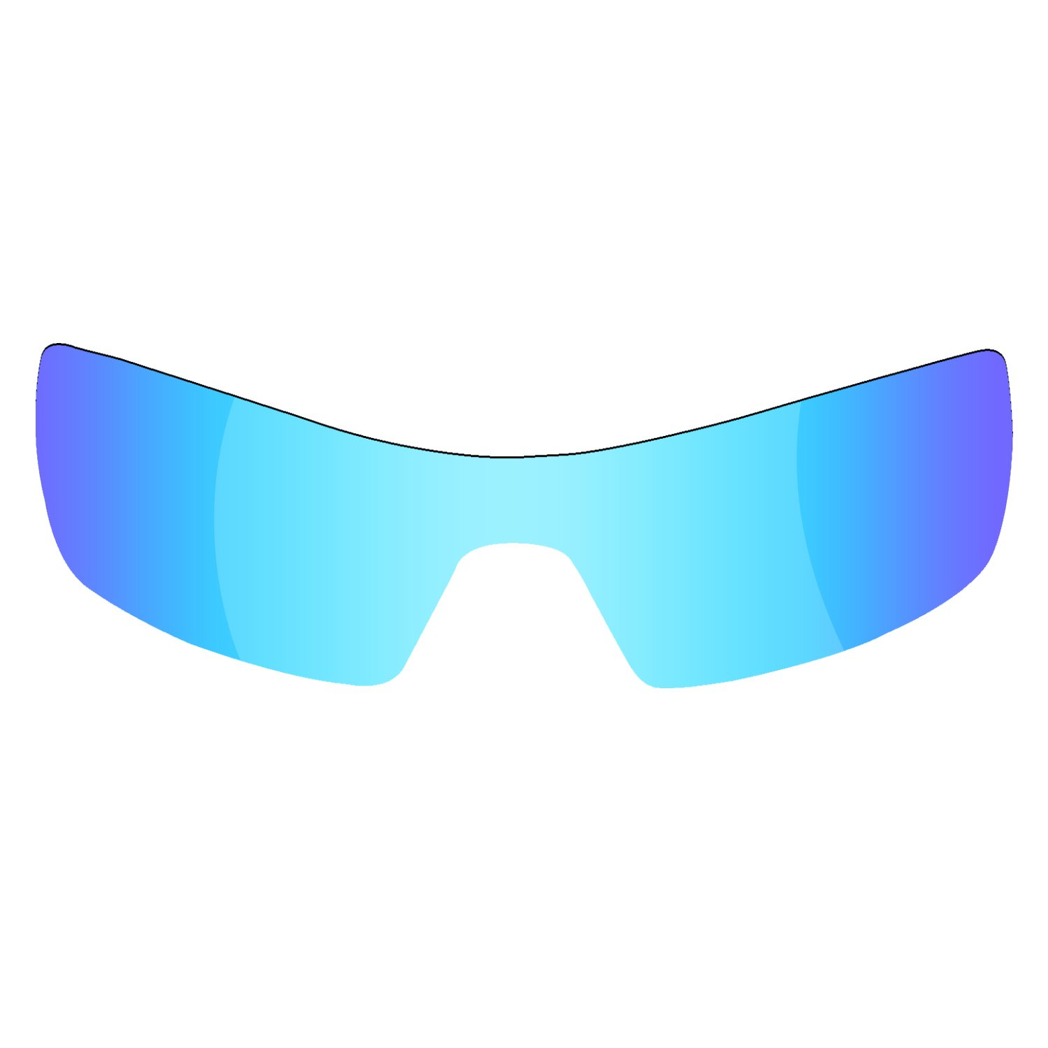 994fe5e117 Amazon.com   Fiskr Anti-saltwater Polarized Replacement Lenses for Oakley  Oil Rig Sunglasses 2 Pairs Packed (Fire Red   Ice Blue)   Sports   Outdoors