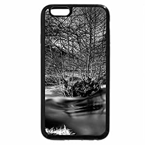 iPhone 6S Case, iPhone 6 Case (Black & White) - Old River Mill