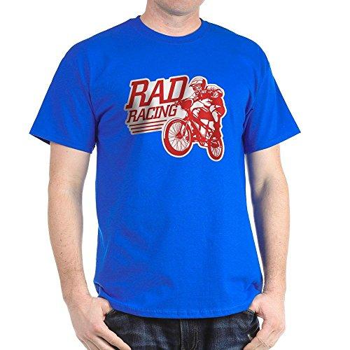 CafePress Retro RAD BMX Racing Black T-Shirt - 100% Cotto...