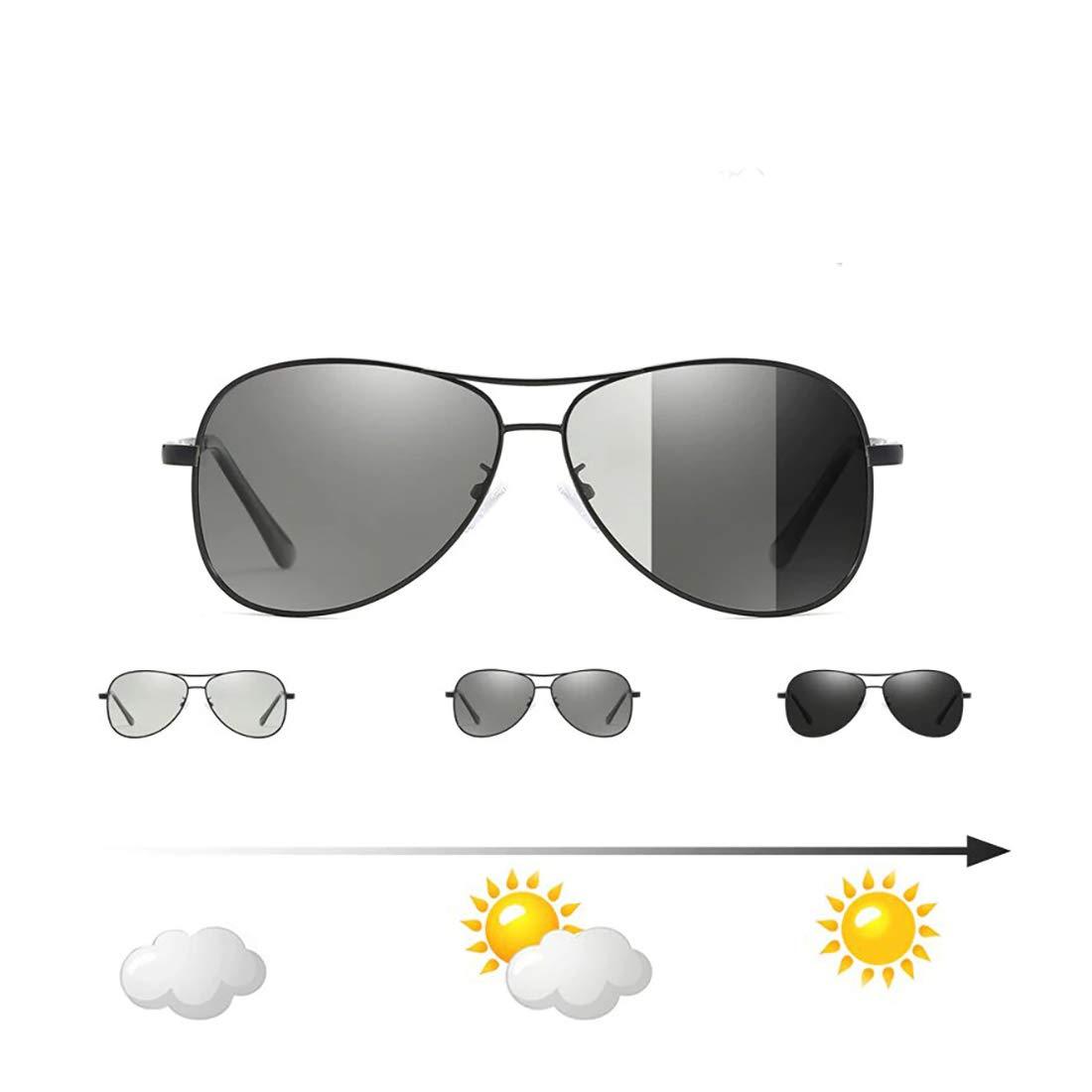 24 JOYAS Gafas de Sol Aviador Polarizadas Fotocromáticas con ...