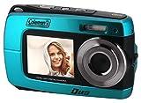 Coleman Duo2 2V8WP Dual Screen Shock & Waterproof Digital Camera (Blue)