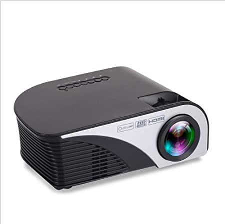ZGYQGOO Proyector Video LED Mini proyector portátil Soporte ...