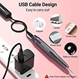 MelodySusie Electric Nail Drill USB Type, Portable