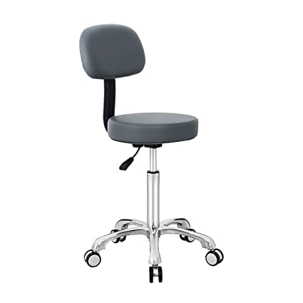 Amazon.com: Rolling Chair Drafting Stool with Wheels and ...