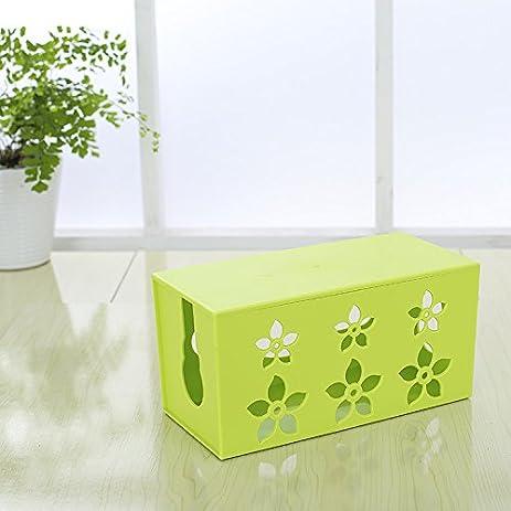 Amazon.com : In-Box Cable Management Box Wire Organizer Cord Storage ...