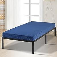 SLEEPLACE VC04TM02T Mattress, Blue, Twin, 78x38x4 Inch