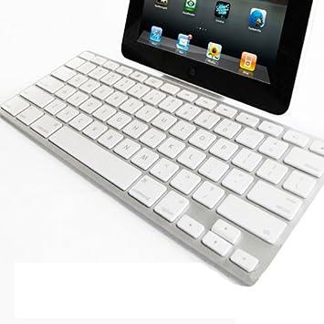 Teclado Wireless Bluetooth fino para Apple iPad 2 3 4 Mini y Tablets Samsung: Amazon.es: Electrónica