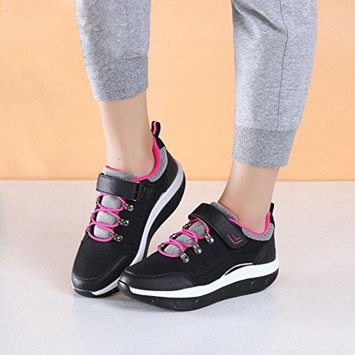 Snbling Womens Walking Sneakers Comfort Leggere Scarpe Da Corsa Larghe E Atletiche Nere